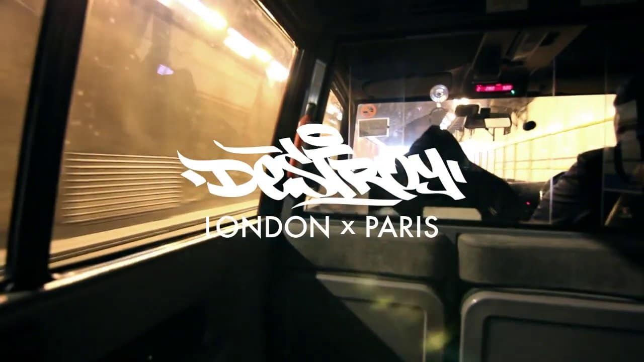 Video – Ink & Clog – DSTRY London x Paris