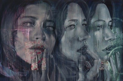 Rone 2014 Faith No More Mixed Media on Canvas 3000mm x 2000mm 500x332 Exhibition Rone Lumen Collins St Melbourne  in exhibitions