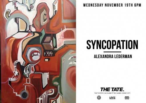 10700176 10205303102756899 5738480159831073014 o 2 500x353 Exhibition Syncopation Alexandra Lederman At The Tate Sydney in sydney street art genres illustration genres galleries urban art fine ary exhibitions events