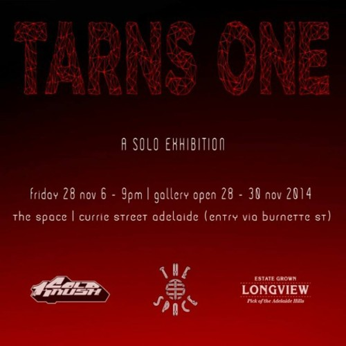 tarnsone 500x500 Exhibition Tarns One Adelaide in painting genres graffiti genres exhibitions adelaide