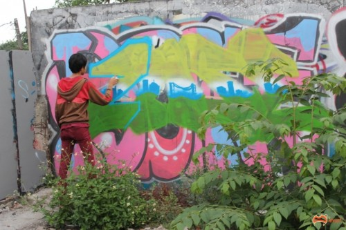 IMG 9642 Custom 500x333 Feature Jakarta Graffiti Travel Tales in street art genres art event photos paintups urban art indonesia graffiti genres editorial
